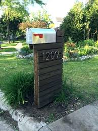 Double mailbox post plans Modern Double Beneficial Dual Mail Box Post Double Mount Mailbox Wood Wooden Home Double Mailbox Post Wooden Home Improvement Wilson Quotes Decorative