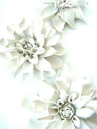 >porcelain flower wall decor inspirational white ceramic art handmade  ceramic flower wall decor porcelain clematis flowers for table or ceiling art uk wal