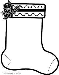 Small Picture Christmas Stocking color page Christmas Coloring pages Holiday