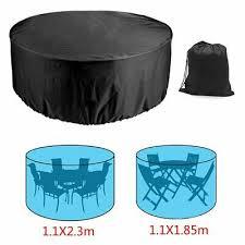large round waterproof outdoor garden