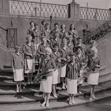 Ivy Benson and her All Girl Band at the Villa Marina posters & prints by  Manx Press Pictures