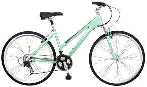 Schwinn Womens Siro 700c Hybrid Bicycle Light Green