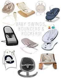 modern baby swing