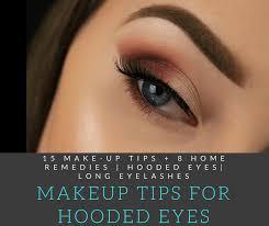 15 make up tips 8 home remes hooded eyes long eyelashes