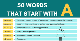 most common words that begin with