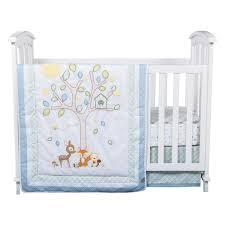 forest tales  piece crib bedding set  trend lab