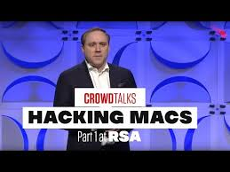 Hacking Exposed: Hacking Macs - RSA Keynote with George Kurtz and Dmitri  Alperovitch - crowdstrike