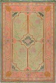 arts crafts vintage rug by doris leslie blau victorian decor