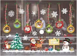 Sunshine Smile Fensterbild Weihnachtenfensteraufkleberpvc Fensterbilderweihnachten Fensterdekoselbstklebend Fensterfolieweihnachtsdekorationdeko