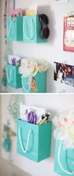 easy diy projects for bedroom. diy wall organizers using shopping bags | 22 small bedroom decorating ideas on a budget easy diy projects for