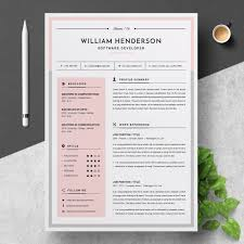 Modern Resume Color Modern Resume Icons Color Areas Colored Resume Design