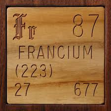 Facts, pictures, stories about the element Francium in the ...