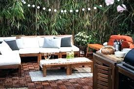 ikea patio furniture. Ikea Backyard Furniture Stylish Patio With Modern Pillows And Upholstery Deck Chair Cushions