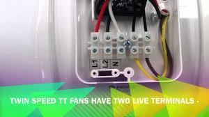 wiring a tt fan youtube manrose extractor wiring diagram wiring a tt fan