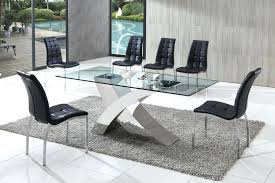 gomez black extendable glass dining table miami black glass dining table and 2 chairs miami black
