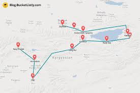 3 Weeks Itinerary For Kyrgyzstan A Backpacking Guide To Traveling