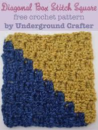 Crochet Box Stitch Pattern Amazing Ideas