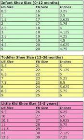 14 Best Shoe Size Chart Brands Images Shoe Size Chart