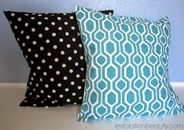 how to diy the easier than ever no sew floor pillow