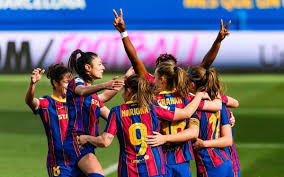 Dream league soccer real madrid kits logo url download. Fc Barcelona Women 4 1 Real Madrid The Clasico Is Blaugrana