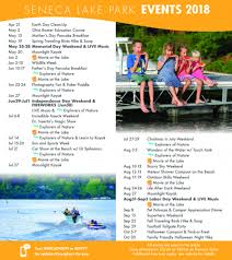 check out the schedule and make your reservations now for summer fun