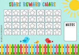 5 Day Reward Chart Dinosaur Reward Charts Pink Blue Free Printable