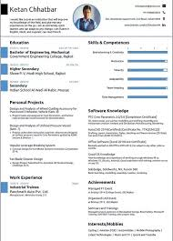 What Is The Best Resume Format For A Mechanical Engineering Student