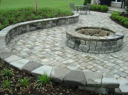 how to build a fire pit patio with pavers new best backyard
