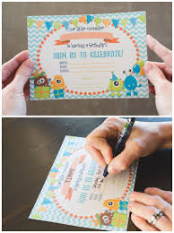 Lil Monster Birthday Invitations Free Printable Monster Birthday Invitations Six Clever Sisters