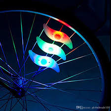 Lights On Wheels Of A Bicycle 2019 With Bettery Bike Light New Bike Accessories Led Wheel Spoke Lamp Cool Velo Bicycle Wheel Light New Bicycle Accessories From Globaltrade100