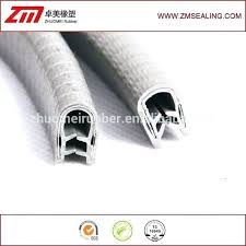 glass edge trim extrusion profile tile strips rubber shelf glass edge trim