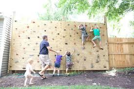 backyard rock climbing wall backyard rock climbing wall for kids yard rock climbing wall