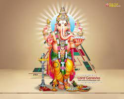 Lord Ganesha Standing Wallpapers ...