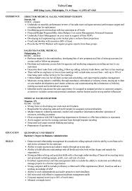 Medical Sales Resume Examples Medical Sales Resume Samples Velvet Jobs 8