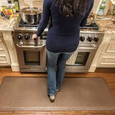 Floor Mats Kitchen Kitchen Amish Kitchen Cabinets With Smart Step Anti Fatigue