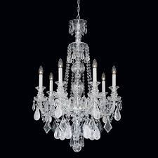 hamilton rock crystal chandelier hamilton rock crystal collection by schonbek