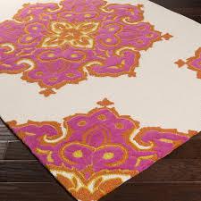 catchy orange indoor outdoor rug rena indooroutdoor rug magenta orange