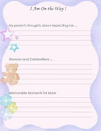 Baby Book Template Best Photos Of Printable Baby Book Templates Printable