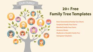 Family Tree Picture Template 20 Family Tree Templates Chart Layouts