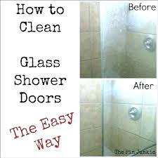 remove water stains from glass hard water stains on shower doors remove water stains from glass