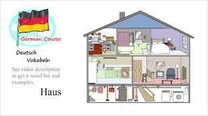 German Vocabulary Course 02 Haus Deutsch Vokabeln Youtube