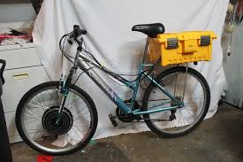 picture of diy electric bike