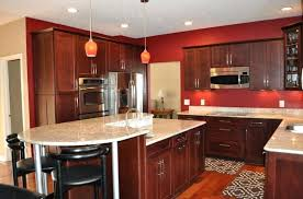 hickory cabinets with granite countertops granite recessed lighting