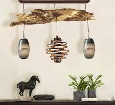 driftwood lighting. Driftwood Pendant Light Serves As Both Lighting And A Piece Of Art. C