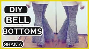 how to make stretchy bell bottom pants from scratch shania