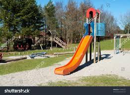 Modern Playground Design Modern Design Colorful Attractive Playground Slide Royalty