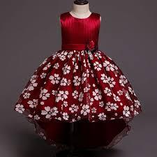 <b>High quality flower girl</b> dress children party clothing girl ball gown ...