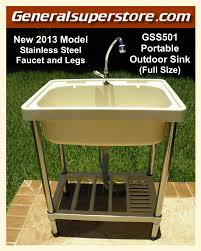 a1 outdoor portable sink full size water station camp