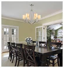 chandelier for dining room. ELK Lighting 10167/6 Easton Polished Nickel 6 Light Chandelier Transitional- Dining-room For Dining Room I
