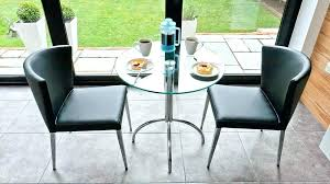 small glass dining table for 2 two dining set two dining table and chairs small glass